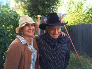 With Ramblin' Jack Elliott