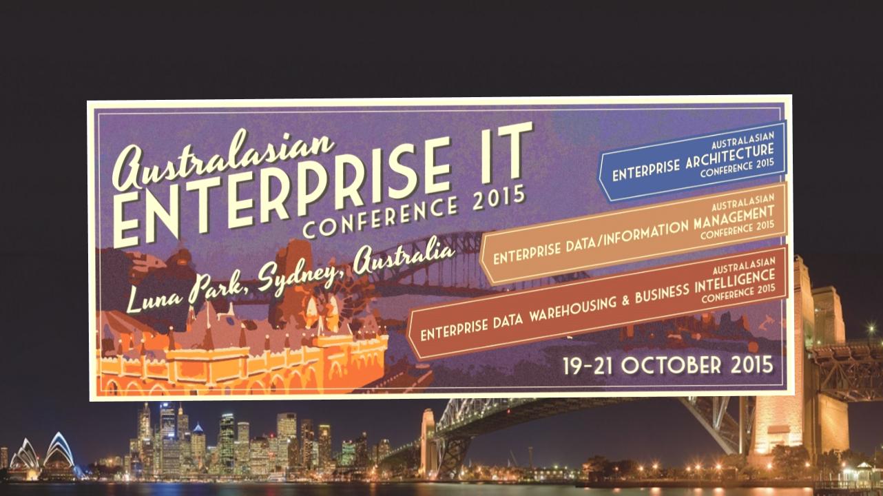 Australasian Enterprise Architecture Conference