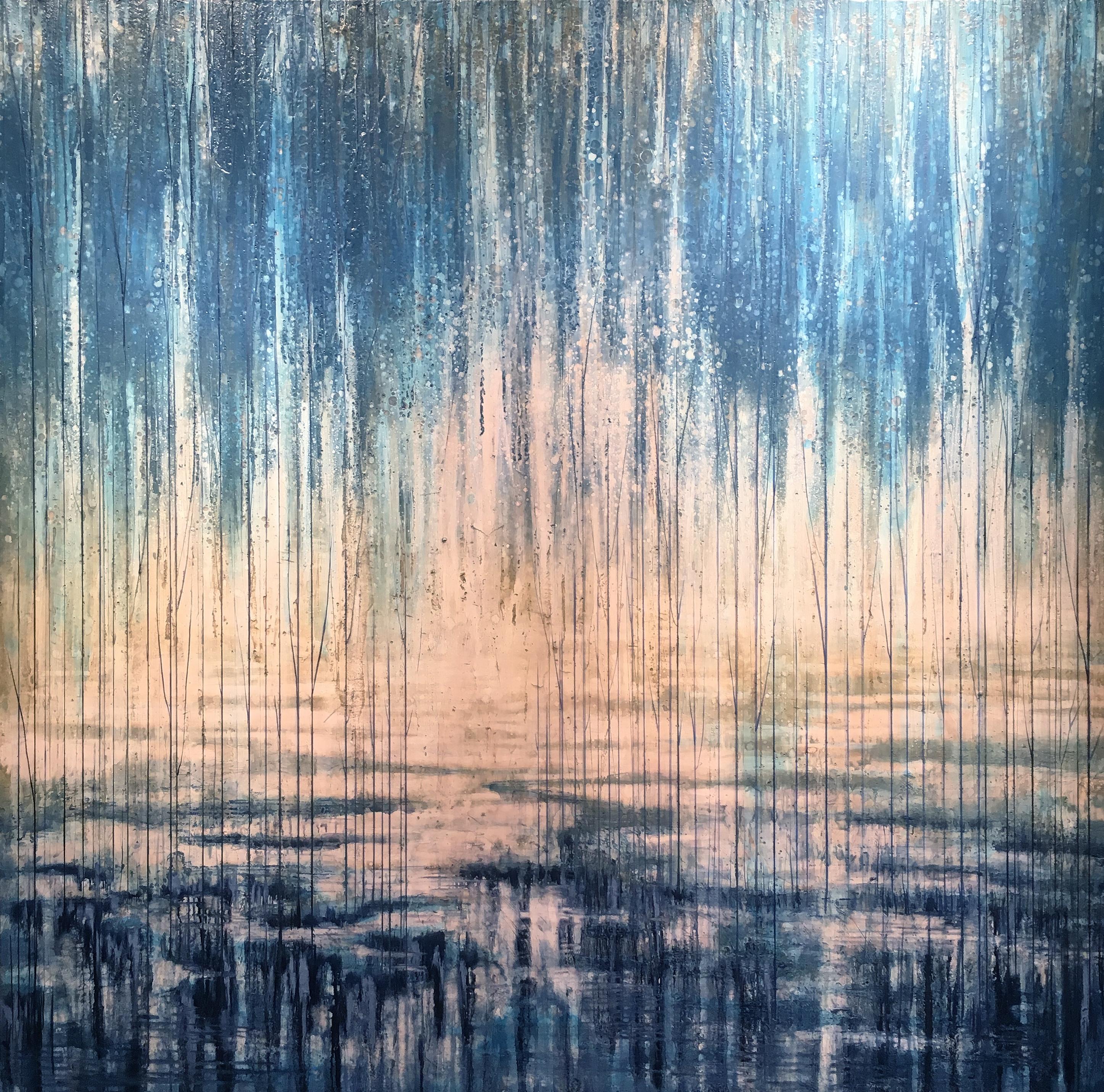 Faded Horizon 60x60