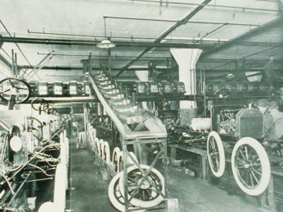 Ford Factory Square Assembly Line
