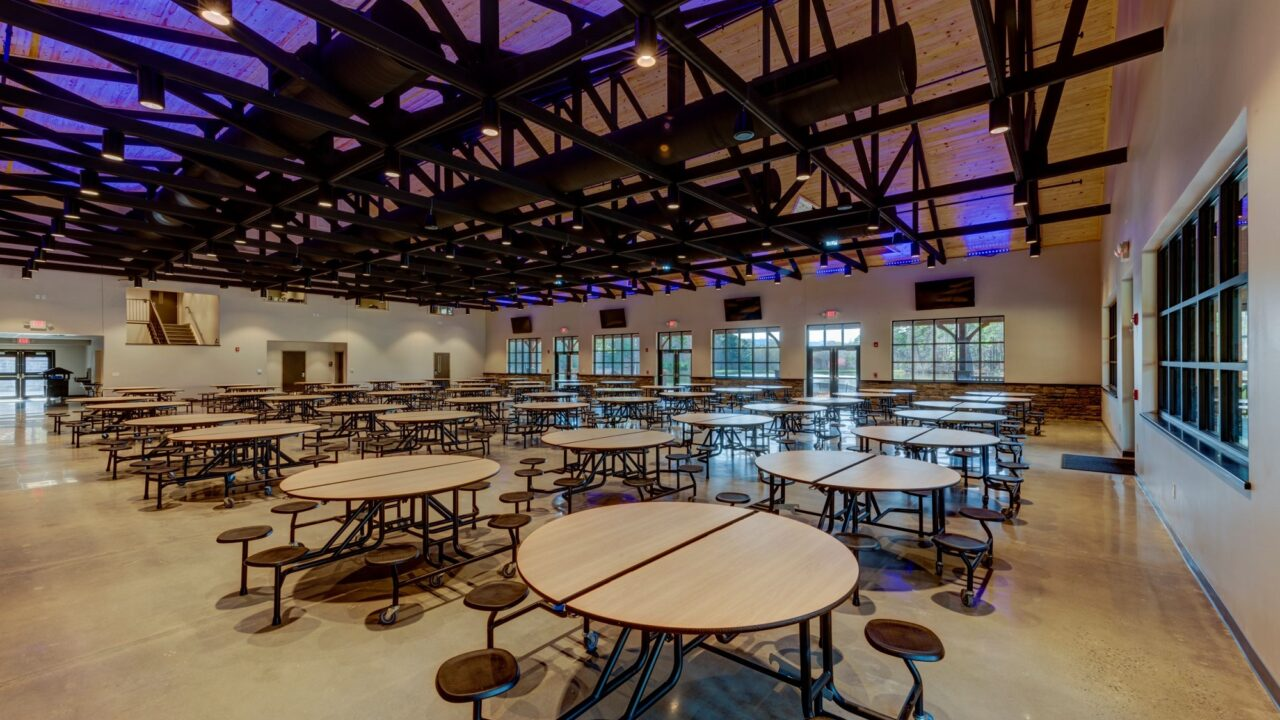 Dining Hall -_RWH4633_4_5_6_7 - Cafeteria