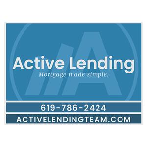 Active Lending Logo a Trinity Fitness Sponsor