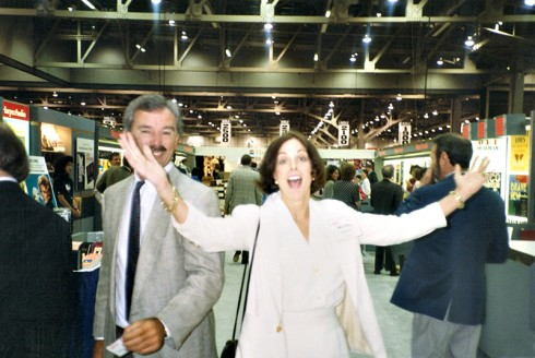 With Editor_Nan_Talese_at Book Expo_Convention_1992