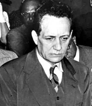 Fritz Duquesne at his trial, November-December 1941.