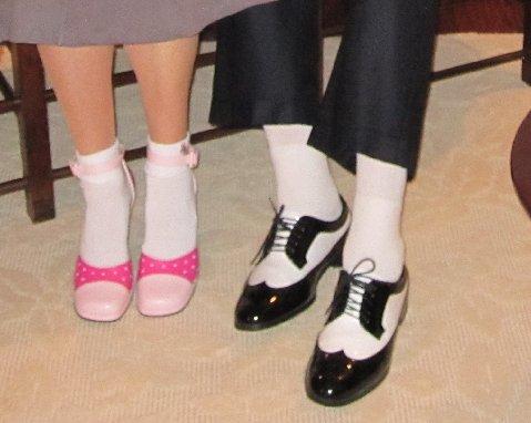 arnie dancing shoes