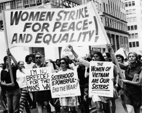 Women's Strike for Peace-And Equality, Women's Strike for Equality, Fifth Avenue, New York, New York, August 26, 1970. (Photo by Eugene Gordon/The New York Historical Society/Getty Images)