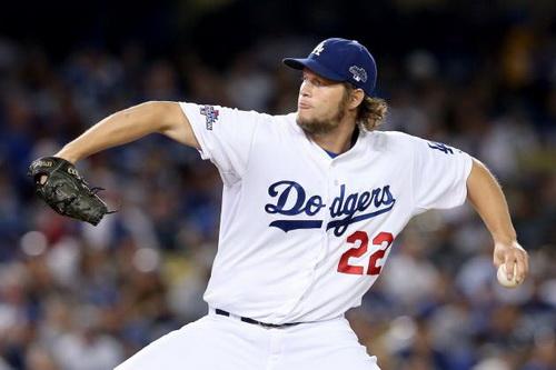 Dodgers Pitcher Clayton Kershaw