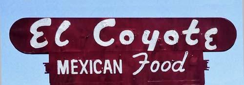 El_Coyote_Sign