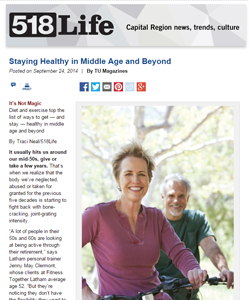 Staying Healthy in Middle Age and Beyond