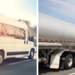 We move all types of trucks, from passenger vans to tanker trucks.