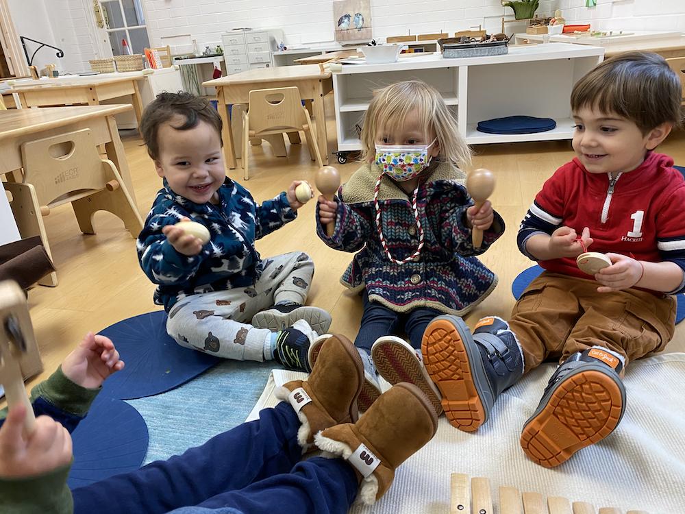Toddler Music In-Person Learning at La Jolla Montessori School