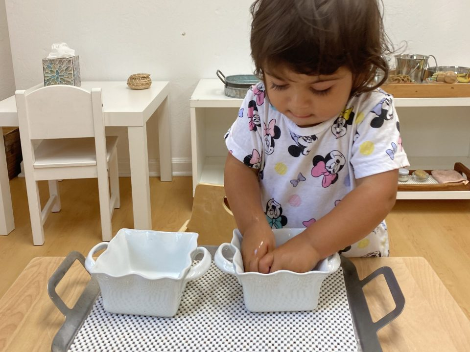 Toddler washing hands Preschool