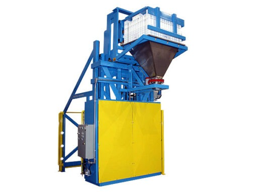 5837-AB Lift & Dump Container Discharger