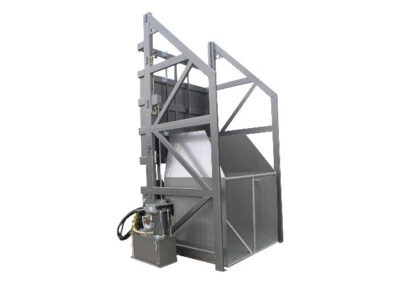 5086-AB Lift & Dump Container Discharger