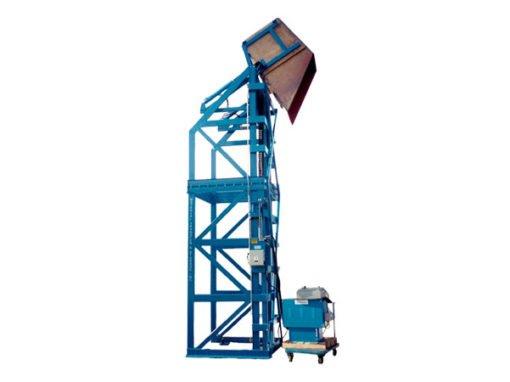 4087-AB Lift & Dump Drum Discharger