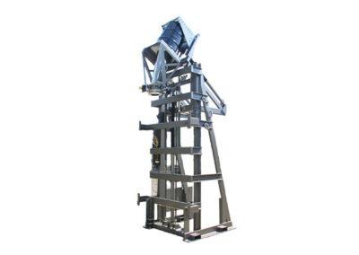 4763-AD Lift & Dump Drum Discharger