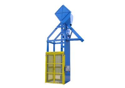 4766-AD Lift & Dump Drum Discharger