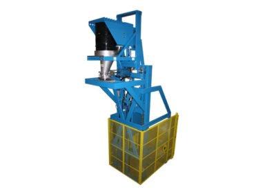 7577-AD Lift & Dump Drum Discharger