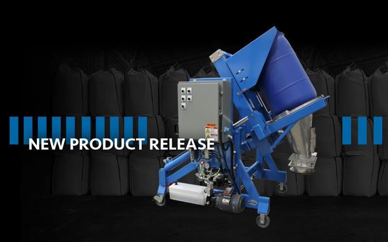 Portable Lift & Seal™ Drum Discharging System