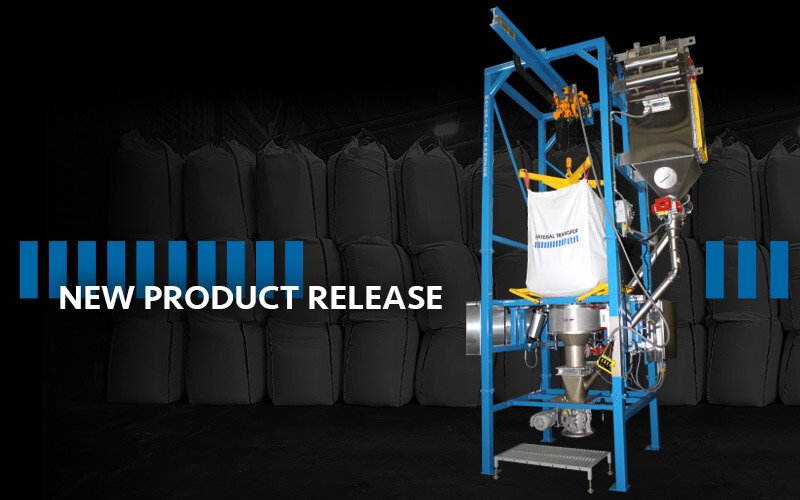 Material Master® Bulk Bag Discharger with Integrated Dust Collection System