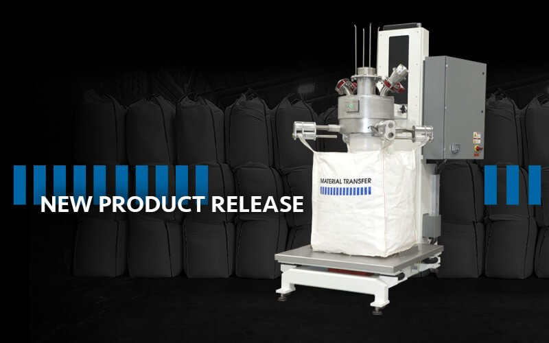 Bulk Bag Filler with FDA White Finish and Food Grade Contact Surfaces