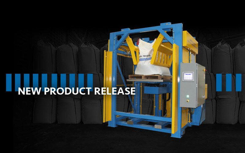 Material Master® Bulk Bag Conditioner with Rotary Lift Platform