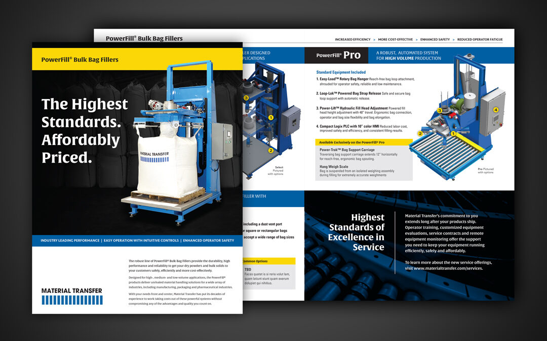 Powerfill® Bulk Bag Filler Product Brochure