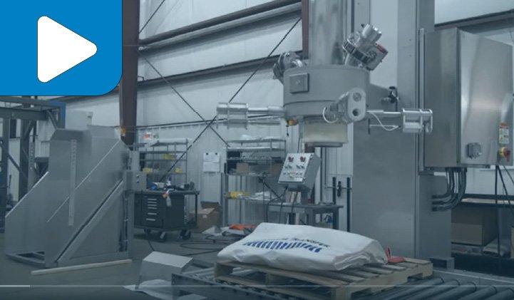 Sanitary Material Master PowerFill® Bulk Bag Filling System
