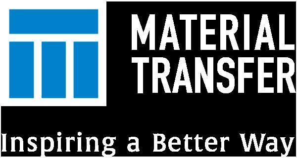 Material Transfer Logo - white reversed