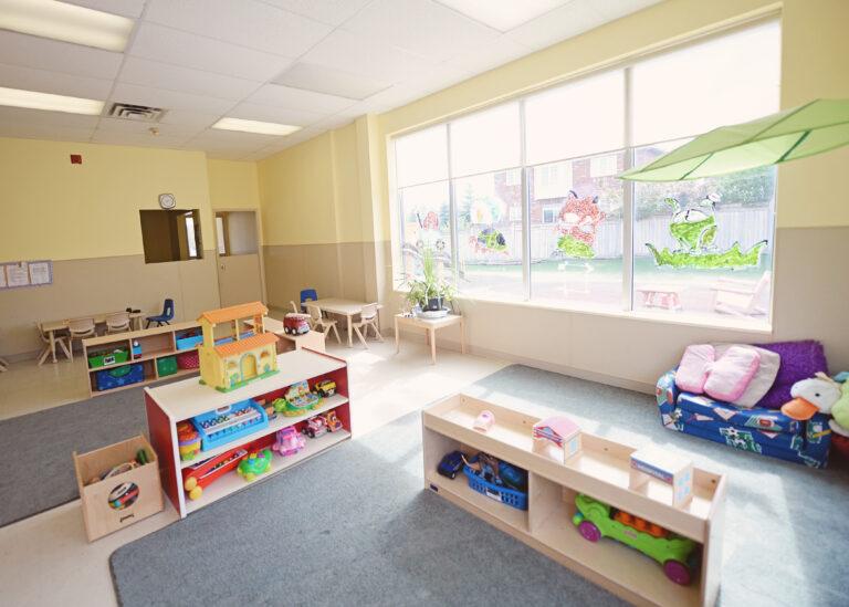 toddler room back area