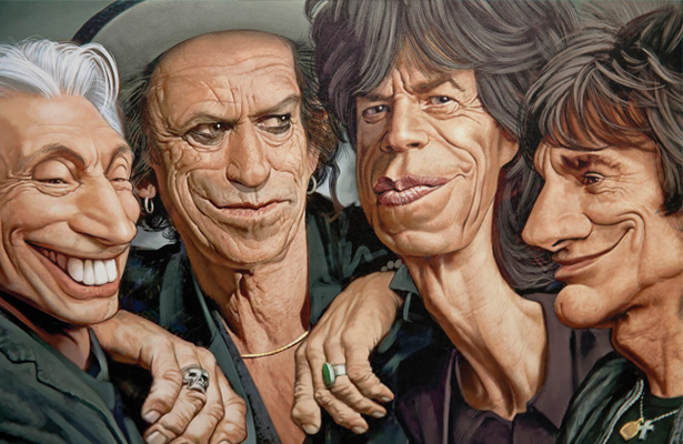 """The Rolling Stones were instrumental in making blues a major part of rock and roll and of changing the international focus of blues culture, to the less sophisticated blues typified by Chess Records artists such as Muddy Waters, writer of """"Rollin' Stone"""", after which the band is named. Image Courtesy: Luca Bruno"""