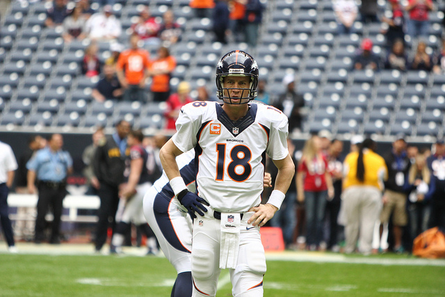 Peyton Manning and the Denver Broncos look to win the AFC West... Again. Photo Courtesy: Rick Leal