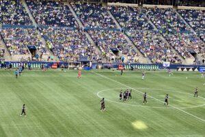 Sounders at Lumen Stadium