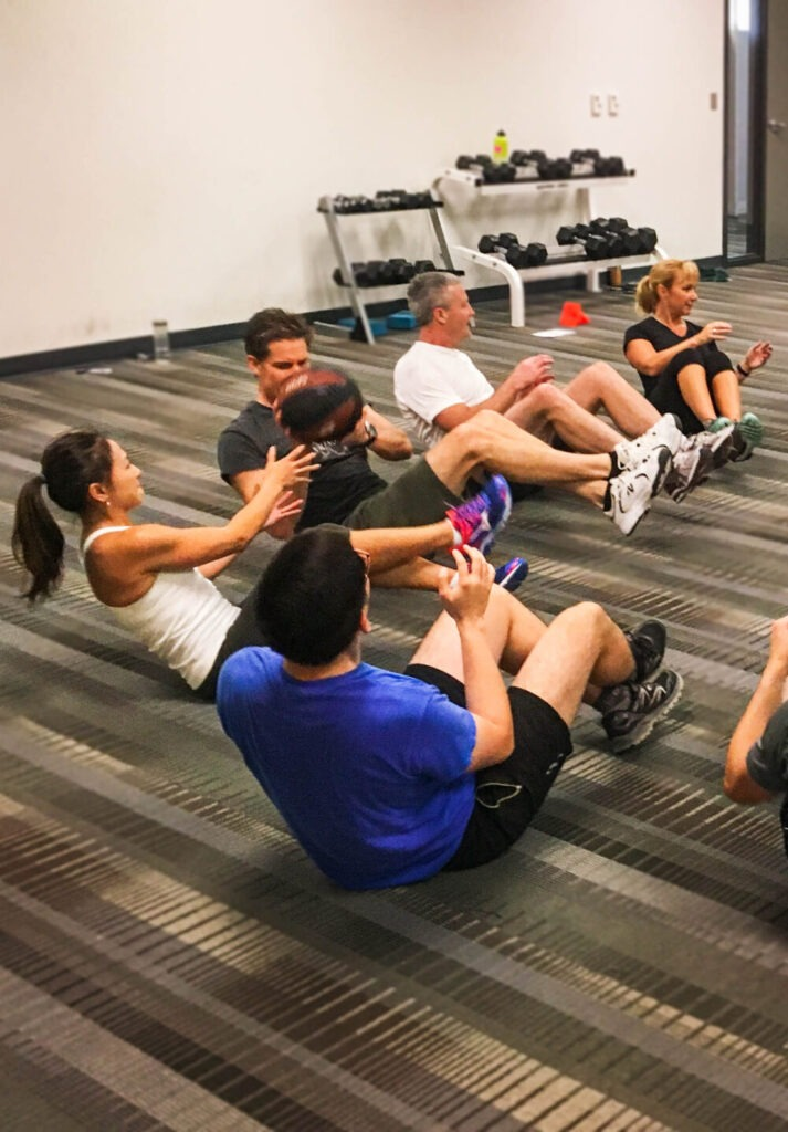 Corporate Fitness Training Ottawa Ontario