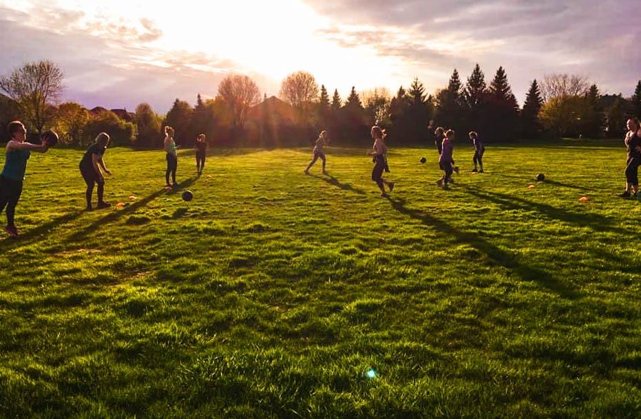Outdoor distance fitness program Ottawa