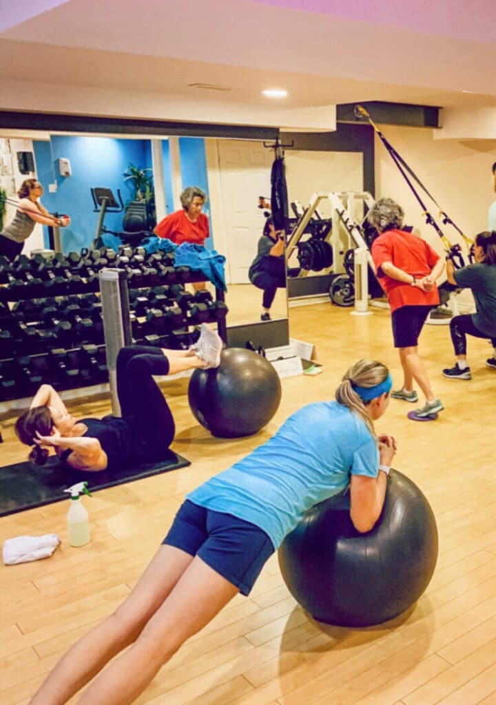 Private Indoor Group Fitness Training Ottawa Ontario