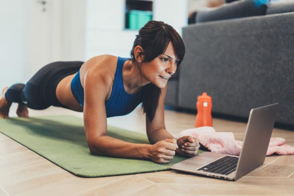 Online and virtual personal training options