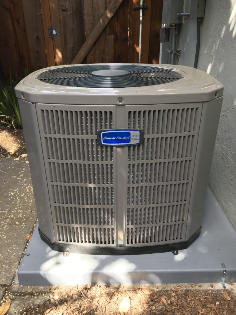 New American Standard Silver Series air conditioning condenser