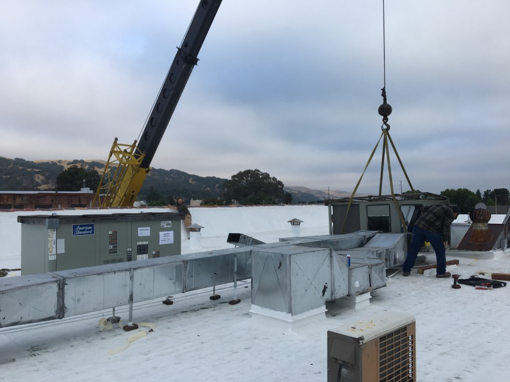 High efficiency business upgrade for downtown Martinez