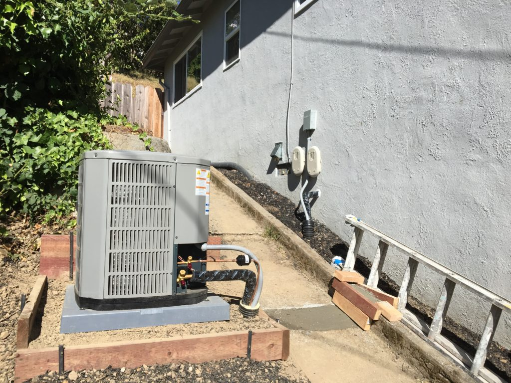 Another Oakland Hill property upgraded to high efficiency climate control