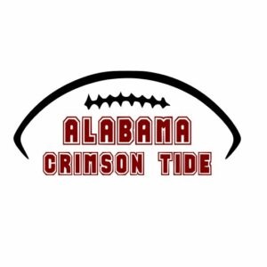 Crimson Tide Football Svg, Roll Tide svg, Alabama Football svg