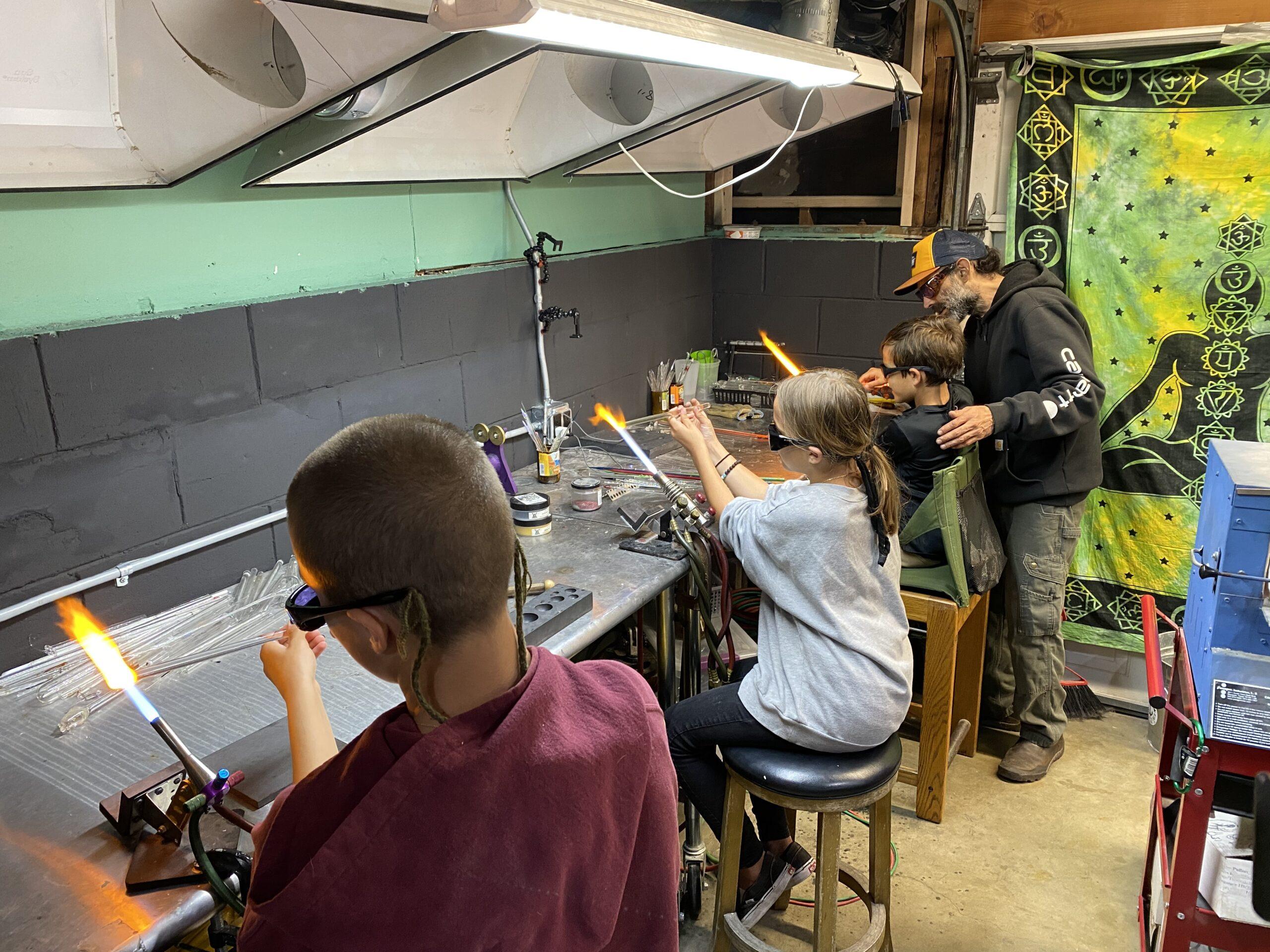 Glassblowing Lampworking Class