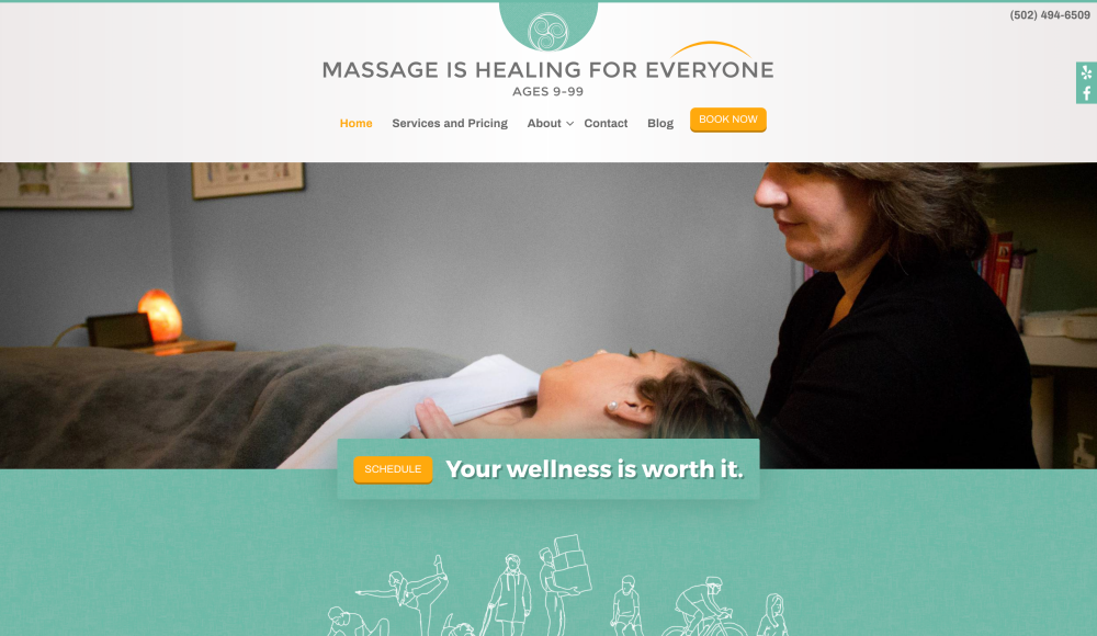 Massage is Healing For Everyone