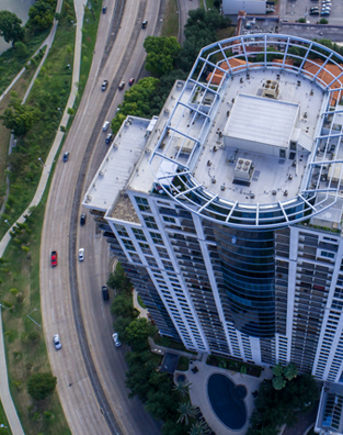Allen Parkway High Rise Roof