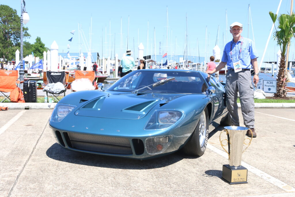 Best of show American at the 2019 Keels & Wheels Concours d'Elegance