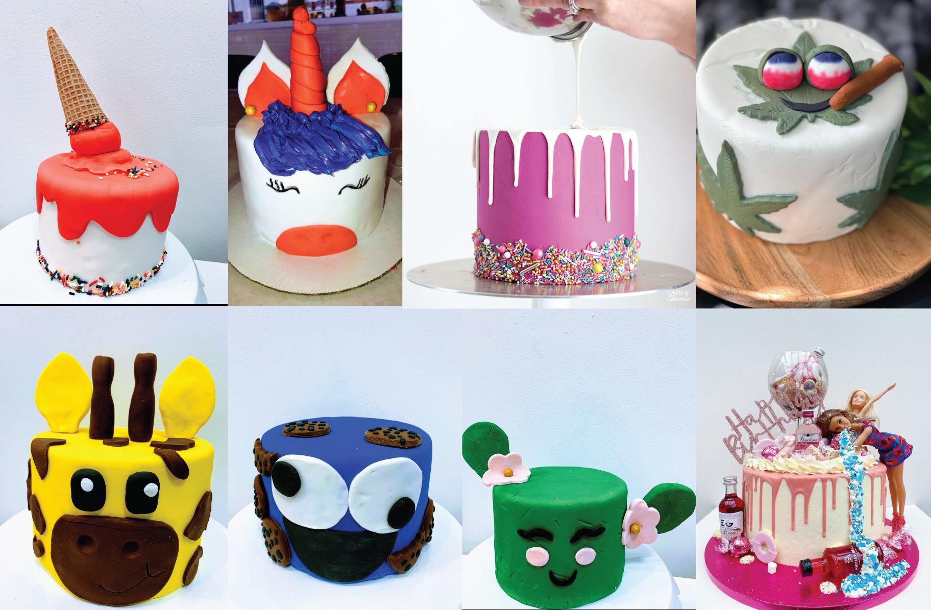 the cake drip web cakes