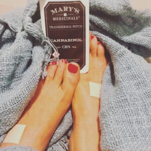 Let's Talk About CBN + Review of Mary's Medicinals Transdermal CBN Patch