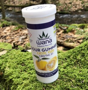 Wana Brand – Exotic Yuzu 2:1 CBD/THC Gummies Review