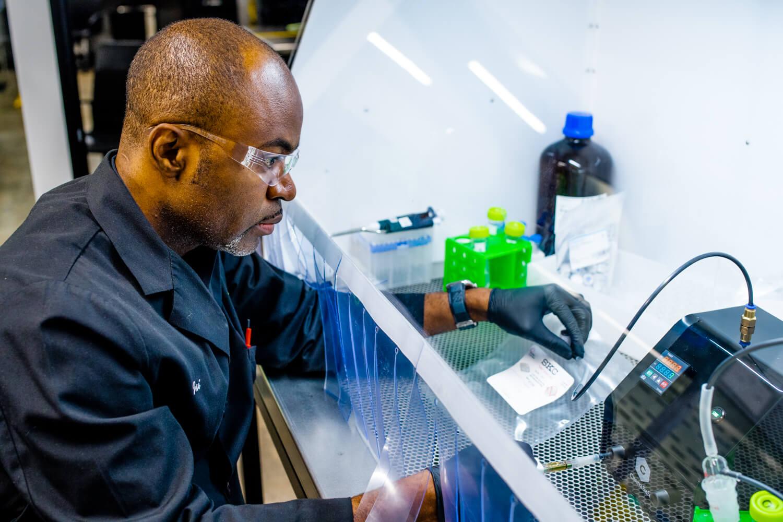 Testing Cannabis in a Lab