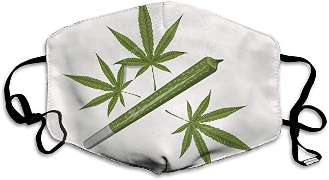 Cannabis Coronavirus Mask